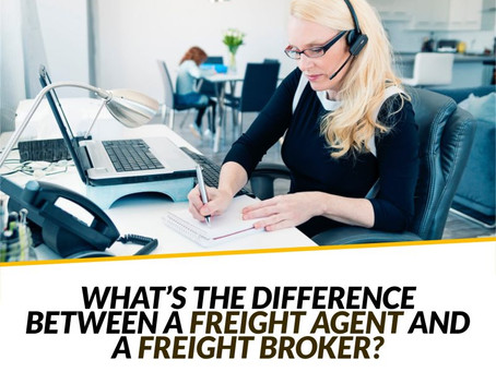 Difference Between A Freight Agent And Freight Broker