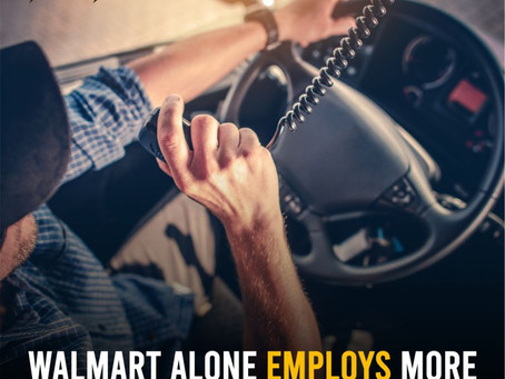 Walmart Employs More Than 8,600 Truckers