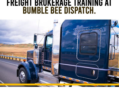 Online Freight Broker Training At Bumble Bee