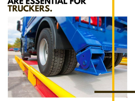 Weighbridges Are Essential For Truckers