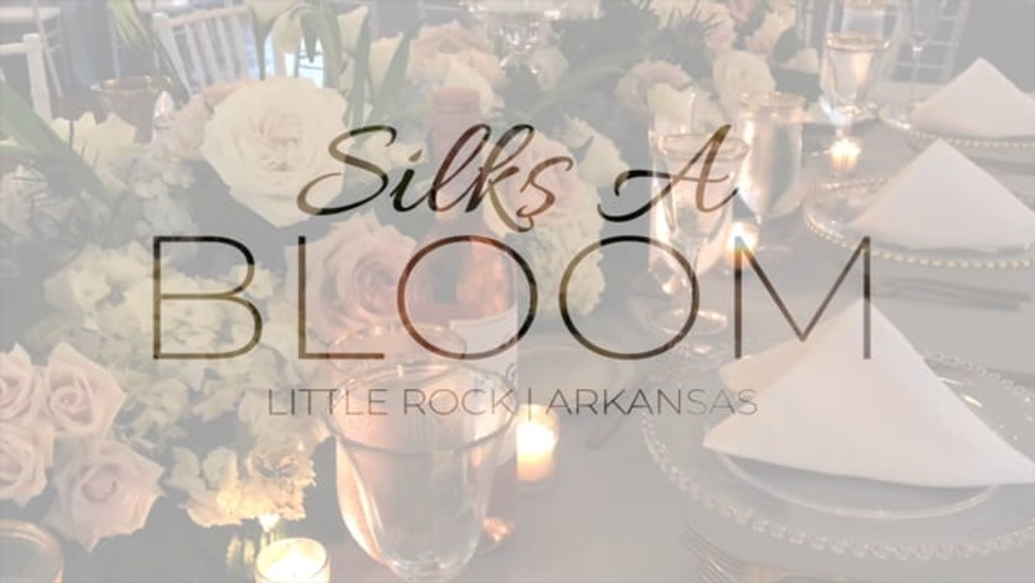 Wedding Floral Install - Silks A Bloom