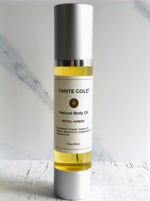 Royal Amber Body Oil