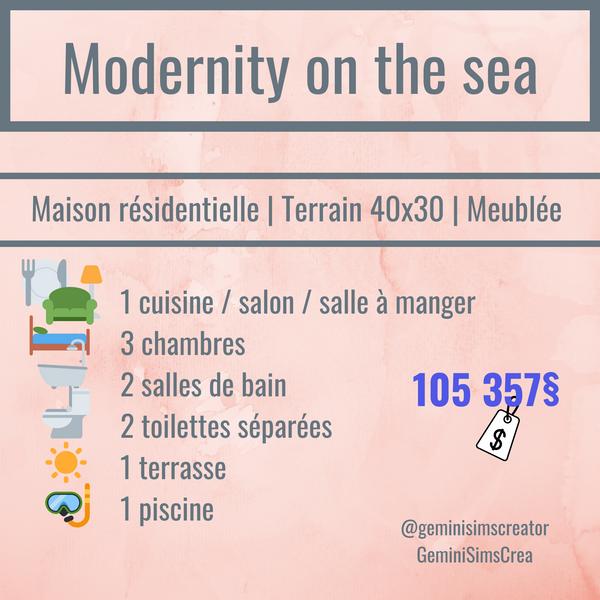 Modernity on the sea