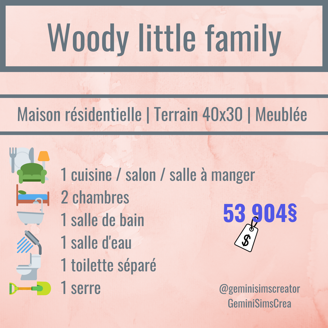 Woody little family