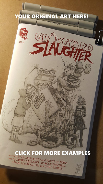 Gary Bedell Sketch Cover Commission