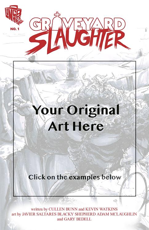Adam McLaughlin Sketch Cover Commission