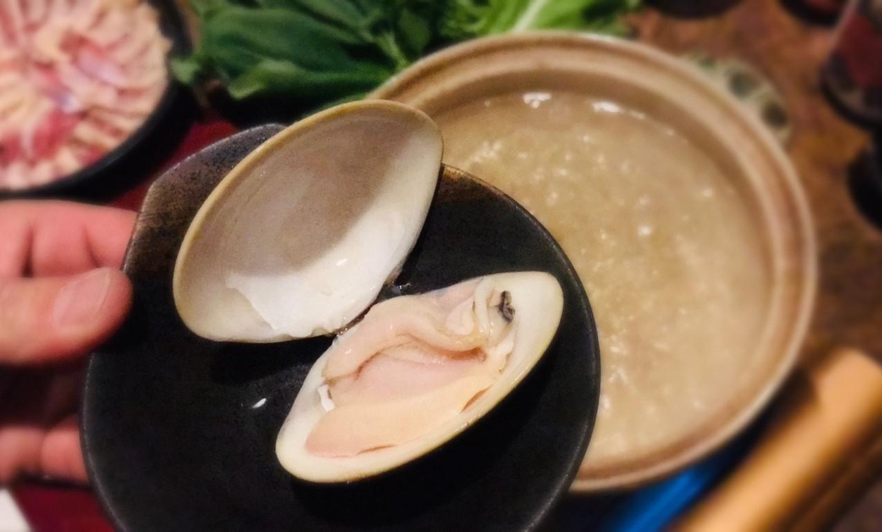 蛤しゃぶしゃぶ