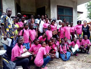 RESH-Liberia Trains Bosh Bosh Volunteers