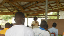 Training for Margibi Students Union in Kakata