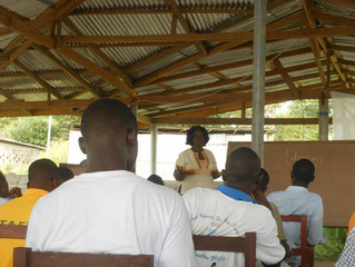 Training for Margibi Students Union in Kakata