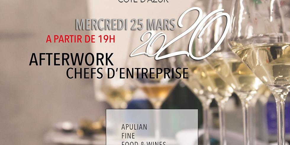 Cocktail dînatoire Chefs d'entreprise