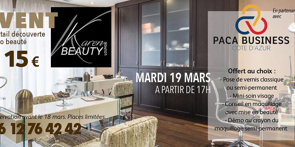 Découverte entreprise Salon Karen Beauty