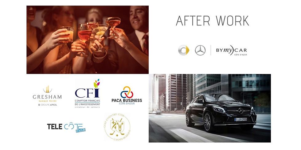 Afterwork des réseaux chez Mercedes bymycar Cannes