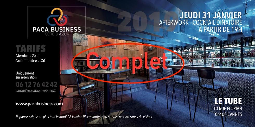 Cocktail dînatoire Chefs d'entreprises