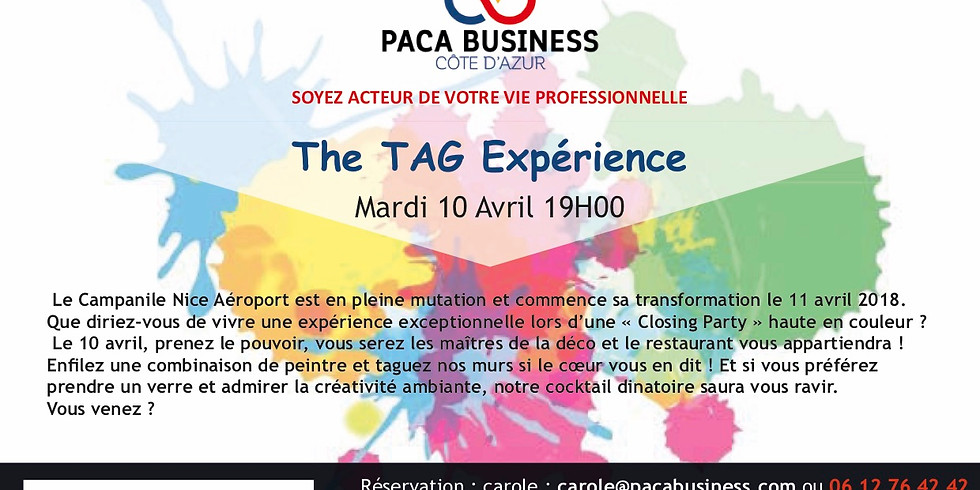 TAG EXPERIENCE - complet !!!