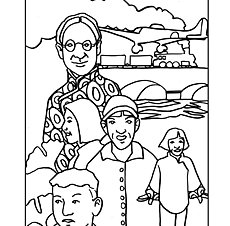 heroes-then-and-now | Coloring Pages