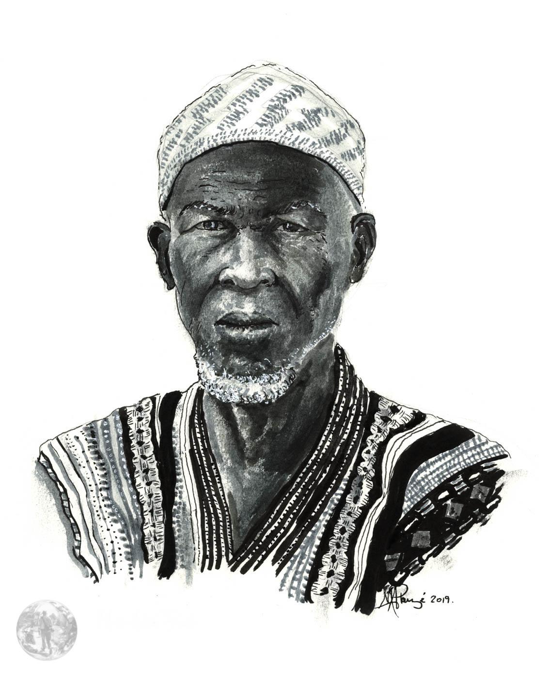 Regard-Jatigiya-Fleuve Niger-Mali-Sahel-