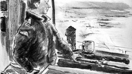 """Une officier de navigation qui """"s'illustre"""""""