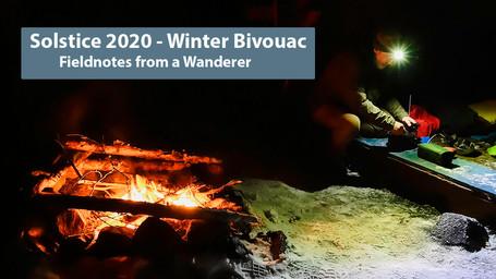 Bivouac d'hiver pendant le solstice
