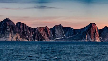 Le début de la cordillère Arctique