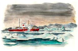 Arctic Mission-NGCC Amundsen-Canada-Nuna