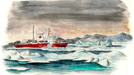 Les Carnets de l'Arctique - Départ sous peu