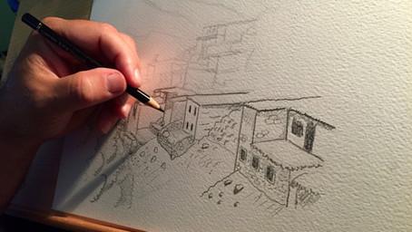 L'importance du dessin pour un peintre