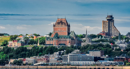 Départ de Québec dans l'ombre d'un géant