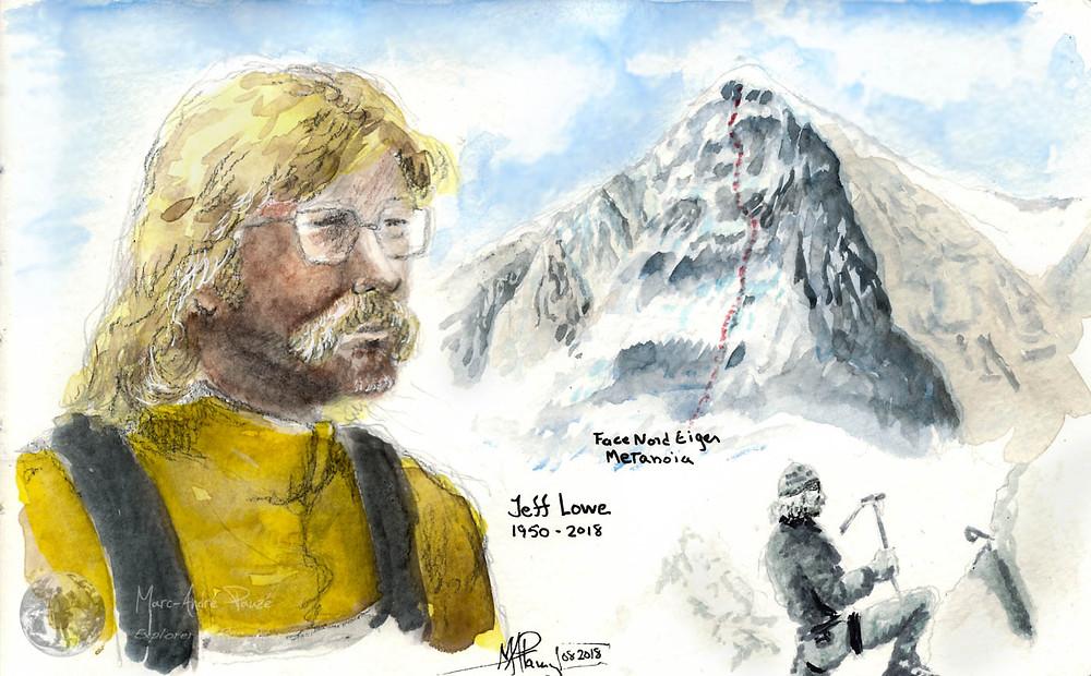 Portrait Jeff Lowe Eiger North Face Metanoia