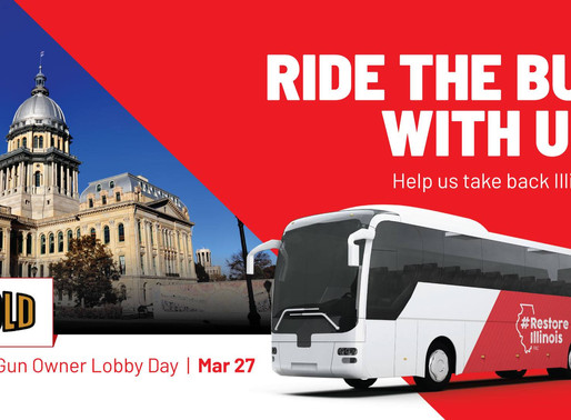 3/27/19  Illinois Gun Owner Lobby Day - Bus Trip