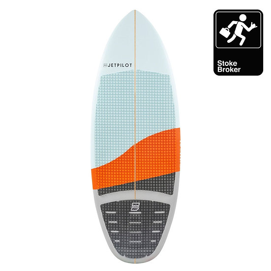 "JETPILOT STOKE BROKER 4'7"" ORANGE"