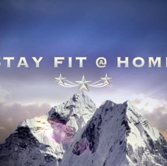 Stay fit @ home