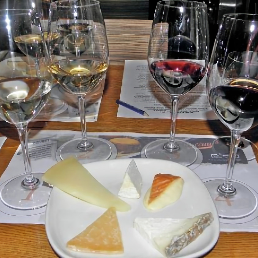 Wild Eye's Whey Yum Serendipity Wine & Cheese Tasting