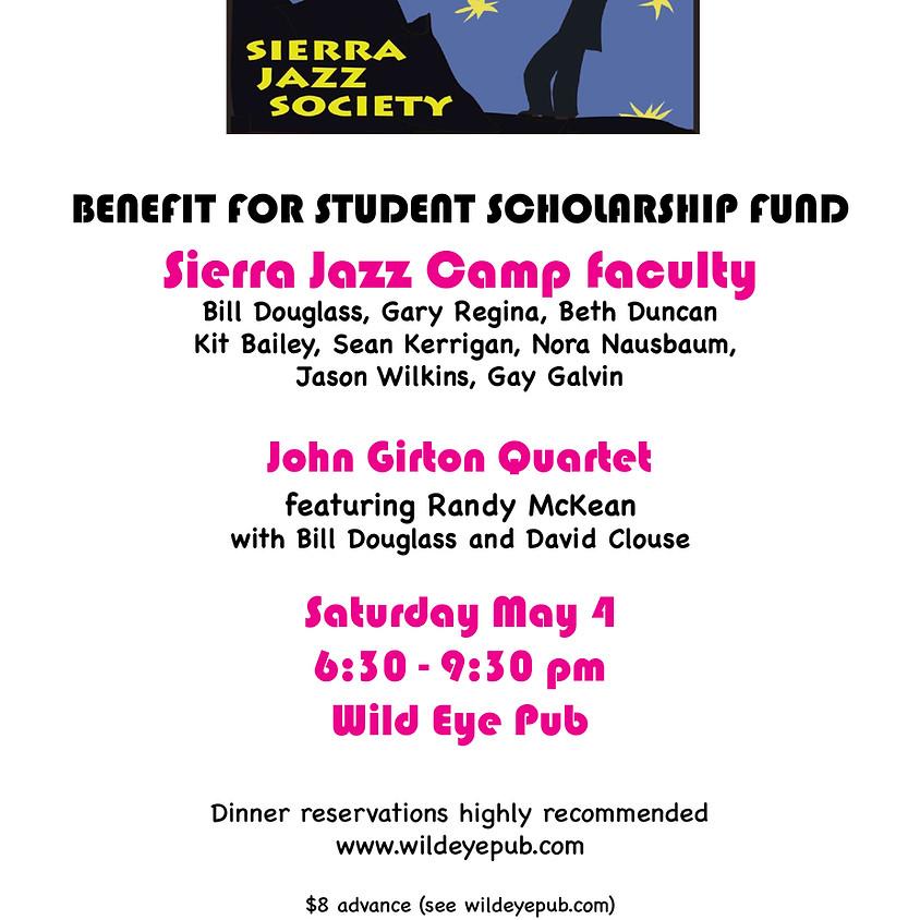Sierra Jazz Camp Faculty: Benefit Concert