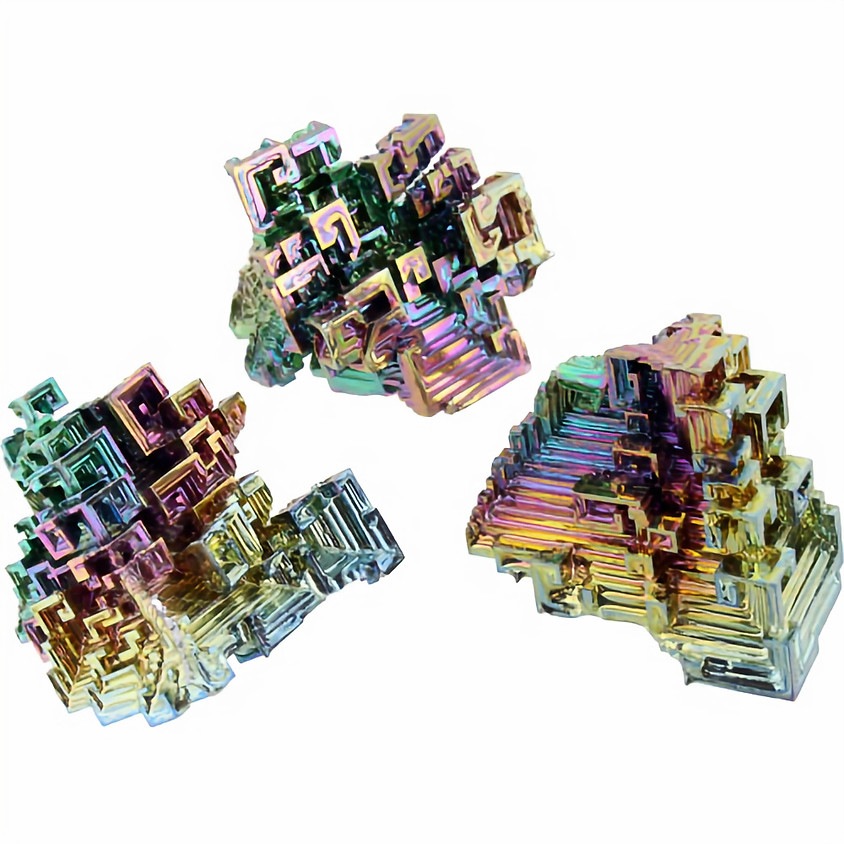 Celebrate National Science Day 2019: Make real bismuth crystals!