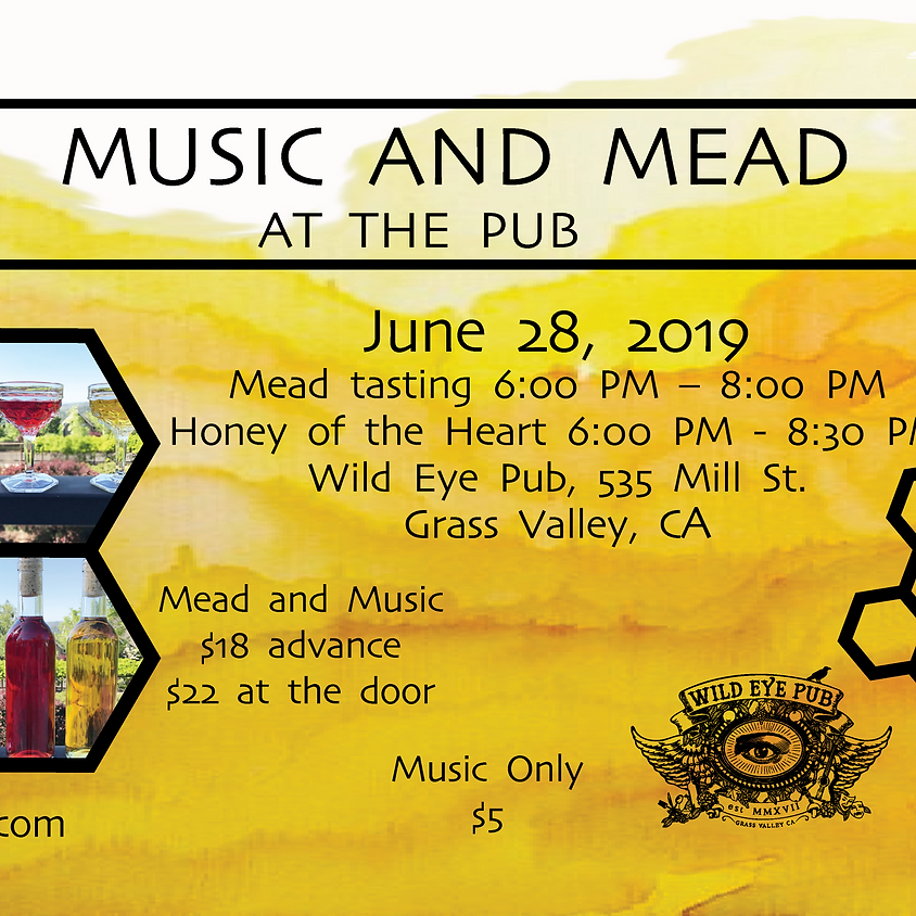 Music & Mead: Honey of the Heart & Davis's Mead Tasting Event!