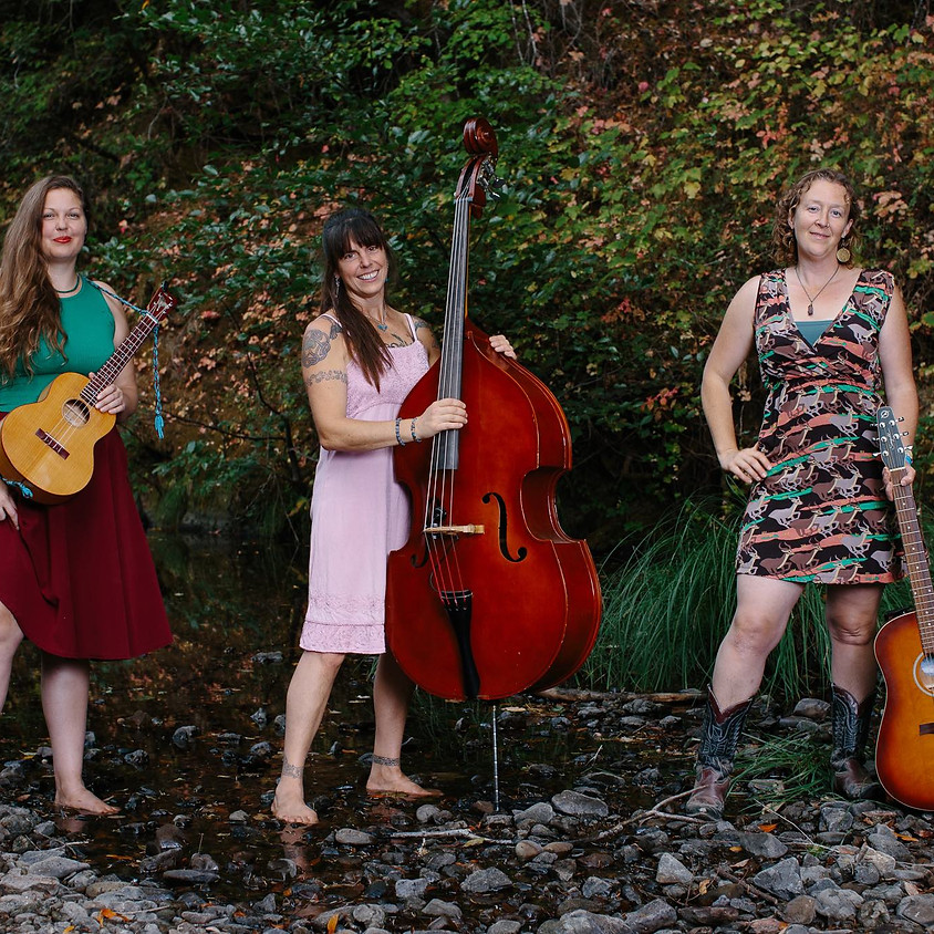 The Real Sarahs on Tour: Original vocal harmony uptempo Americana trio!