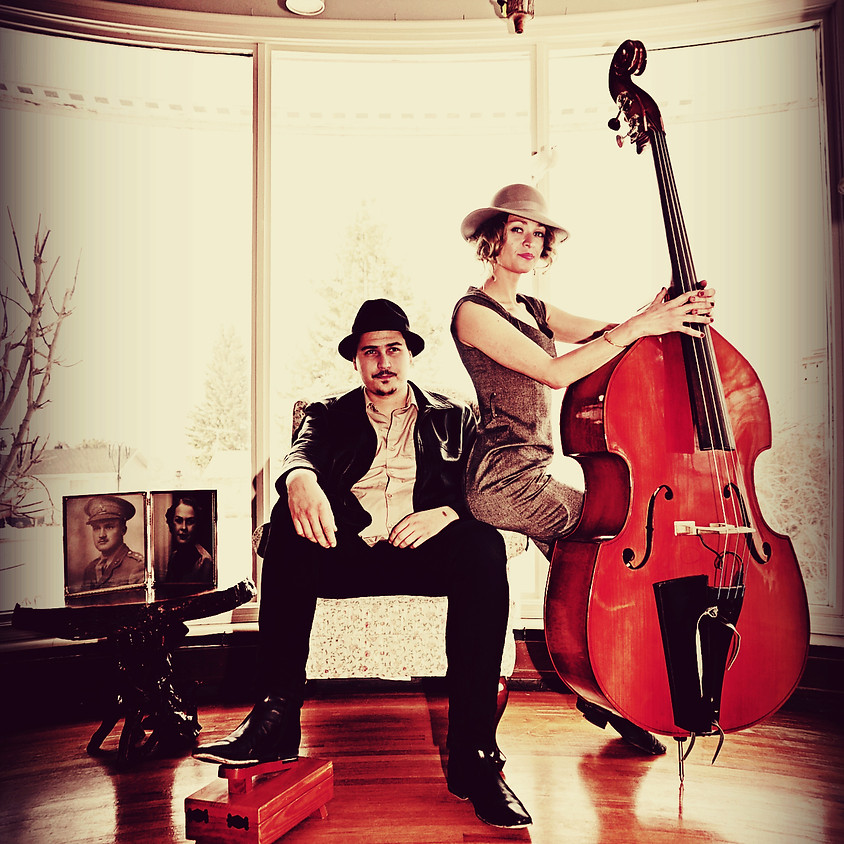 Blue Moon Marquee on tour: Canada's swamp-blues bouillabaisse duo
