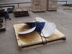 shipping propeller crate