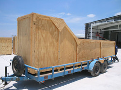 special shipping crate