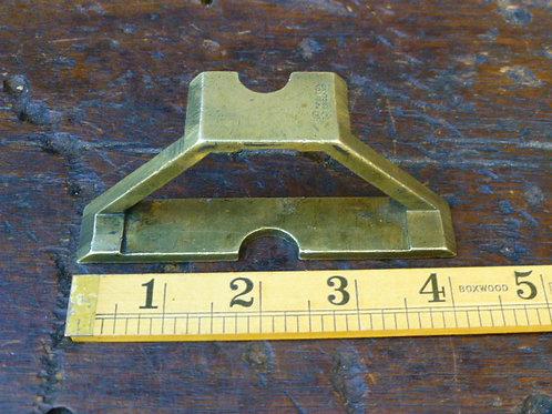 Brass mitre template/templet by E Preston