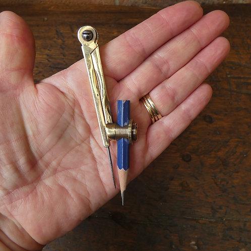 A Lovely Helix Brass Compass