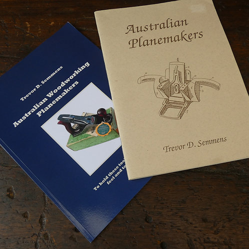 Australian Woodworking Planemakers Paperback Books