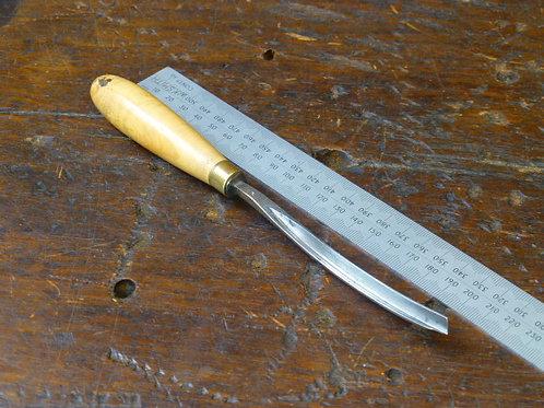 """8mm Curved """"V"""" Parting Tool No 42 - Addis"""