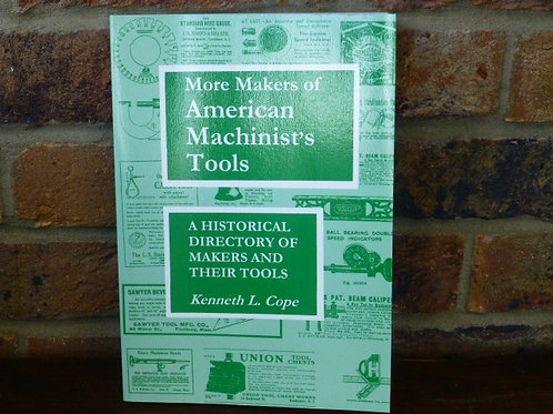Paperback Book American Machinists Tools