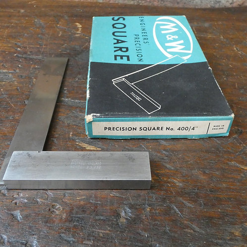 "M&W Engineer's Precision Square - 4"""