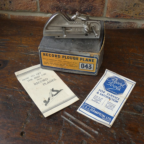 Record 043 Plough Plane - Boxed