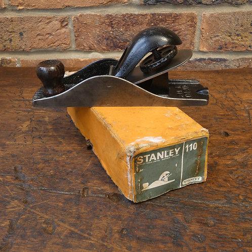 A Boxed Stanley No 110 Block Plane