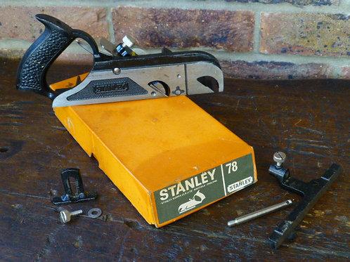 Stanley No 78 Duplex,Rabbet & Filletster Plane