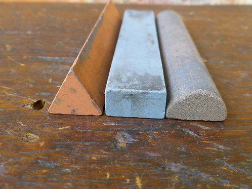 3 Sharpening Slip Stones for Carving